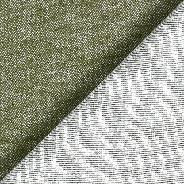 Twill de coton Look denim – gris clair