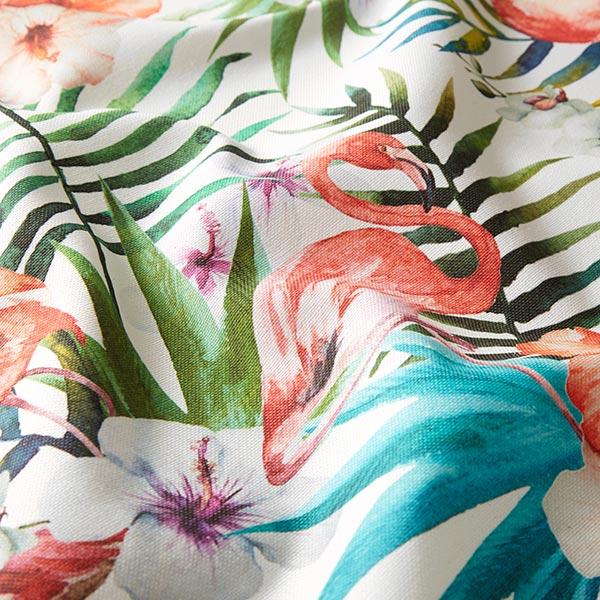 Tissu de décoration Impression numérique Flamands roses – rose vif
