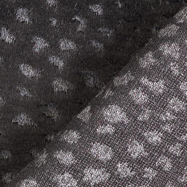 Fourrure synthétique Chat sauvage – noir