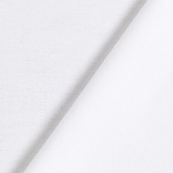 Tissu en coton Molton – écru