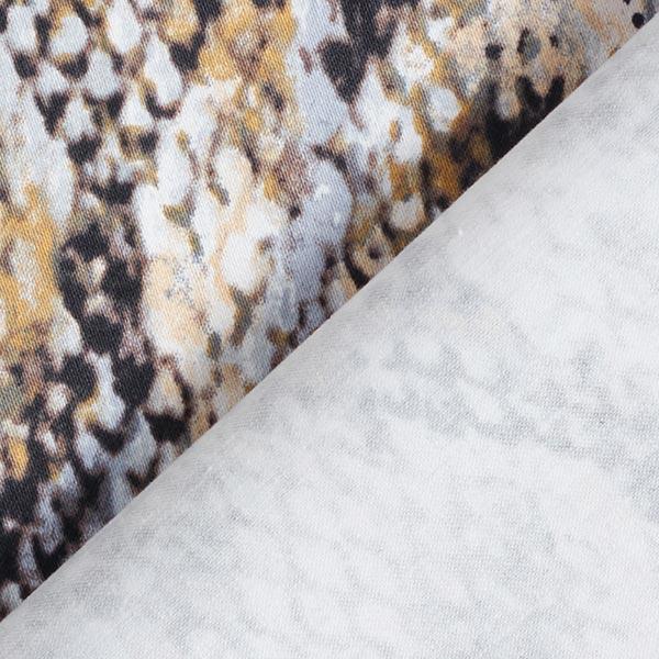 Stretch pour pantalon Imprimé serpents – beige/gris clair