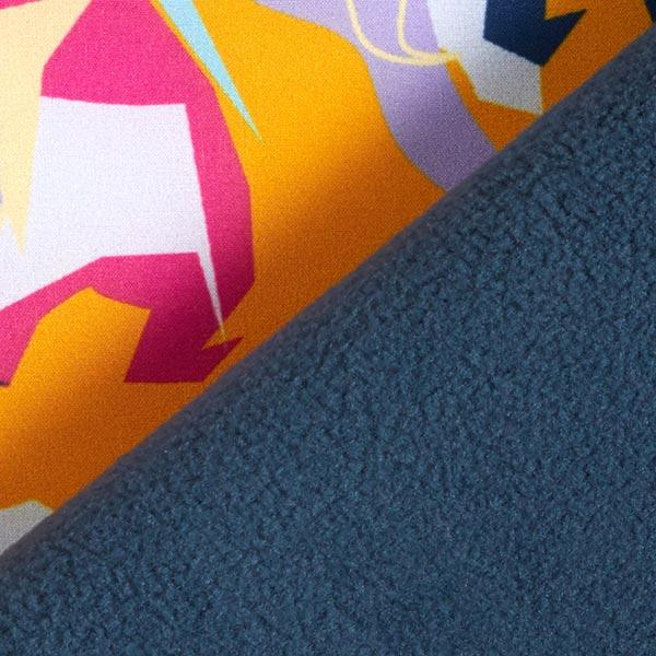 Softshell Motifs abstraits – orange/rose vif