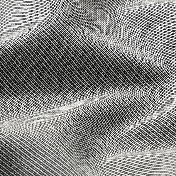 Tissus pour costumes et tailleurs Viscose Rayures diagonales – noir/blanc