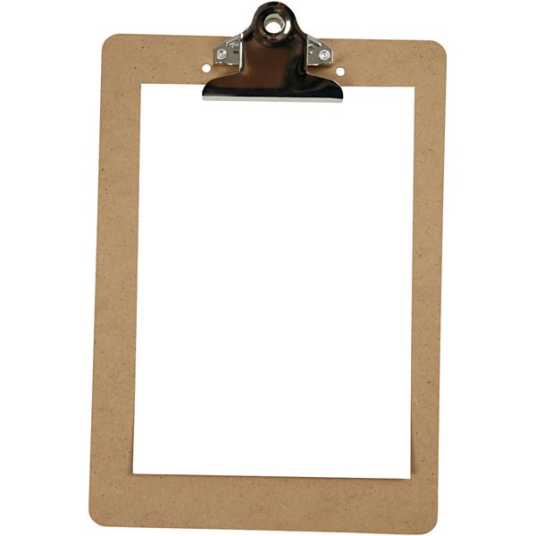 Clipboard [Dimensions: A5] – argent