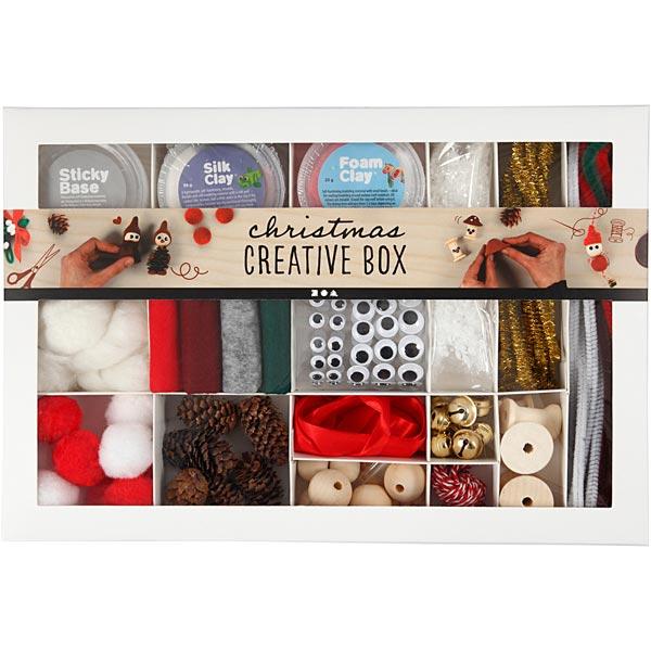 Boîte créative Noël traditionnel