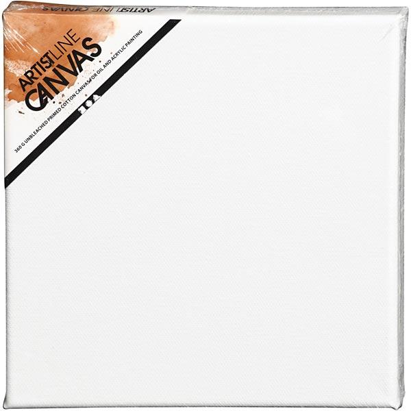 Artist Line Toile [Dimensions: 20cm x 20cm] – blanc