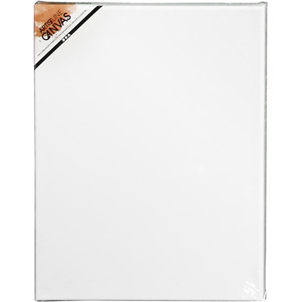 Artist Line Toile [Dimensions: 30cm x 40cm] – blanc