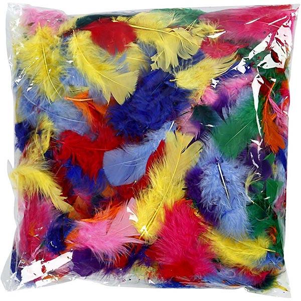 Plumes [ 50 g ] – mélange de couleurs