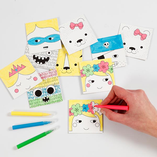 Mini set créatif Memory
