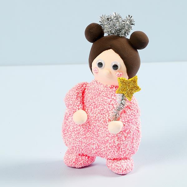 Mini set créatif Modelage - Fée avec baguette magique