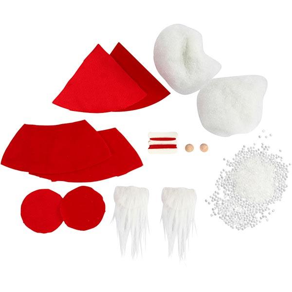 Mini-kit créatif Lutins de Noël [ 2 Pièces ]
