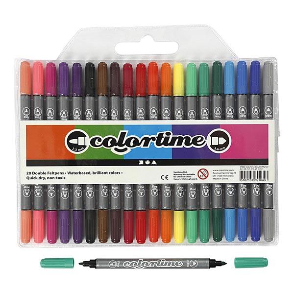 Kidsbox Masque en carton avec peinture de couleur