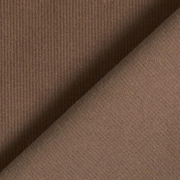 Cordon en coton uni – marron
