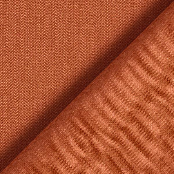 Tissu stretch pour pantalon coton uni – terre cuite