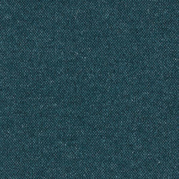 Piqué en maille léger Mélange de laine Double face – pétrole/gris clair