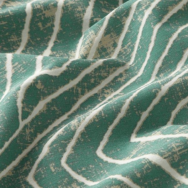 Dekostoff Canvas Blattadern – mintgrün