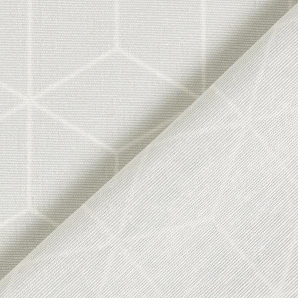 Tissu de décoration Canvas Étoiles graphiques – vert menthe
