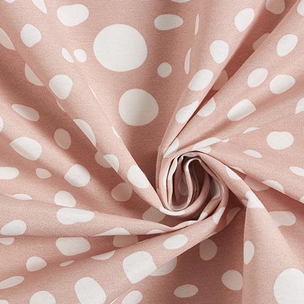 Tissu de décoration Canvas Taches – vieux rose