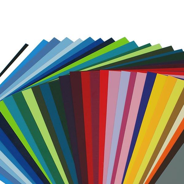 Film flexible PREMIUM Poli-Flex DIN A4 Brillant – rouge