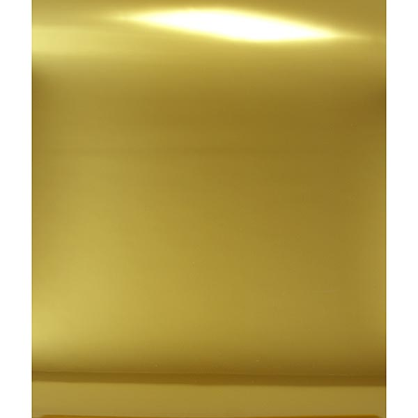 Bügelfolie Spiegelflex Hochglanzoptik DIN A4 – gold