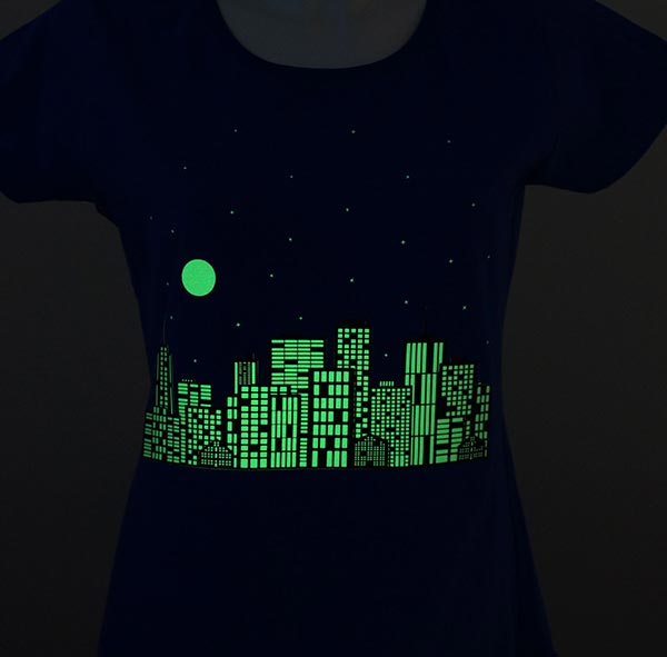 Film thermocollant Glow in the Dark A4