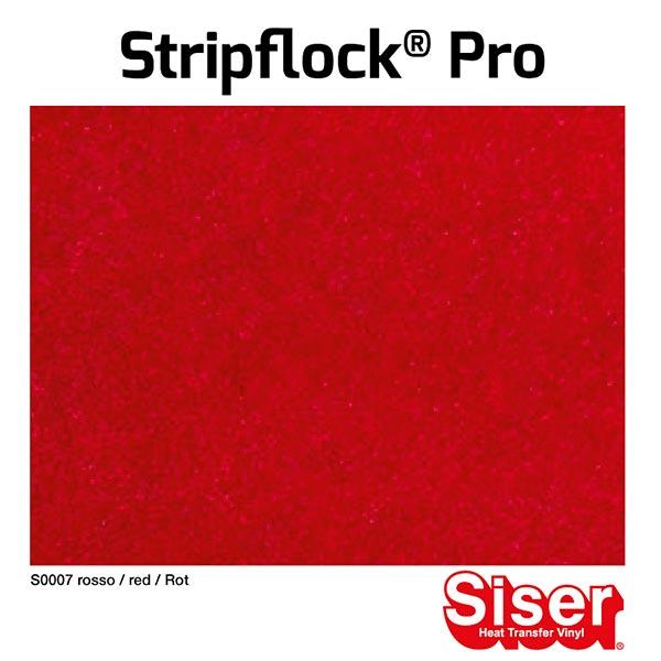 Flockfolie Stripflock® Pro [20x30 cm] – rot