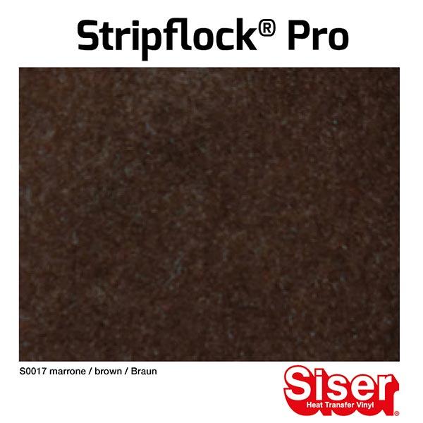 Film floqué Stripflock® Pro [20x30 cm] – marron