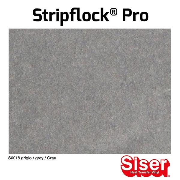 Film floqué Stripflock® Pro [20x30 cm] – gris