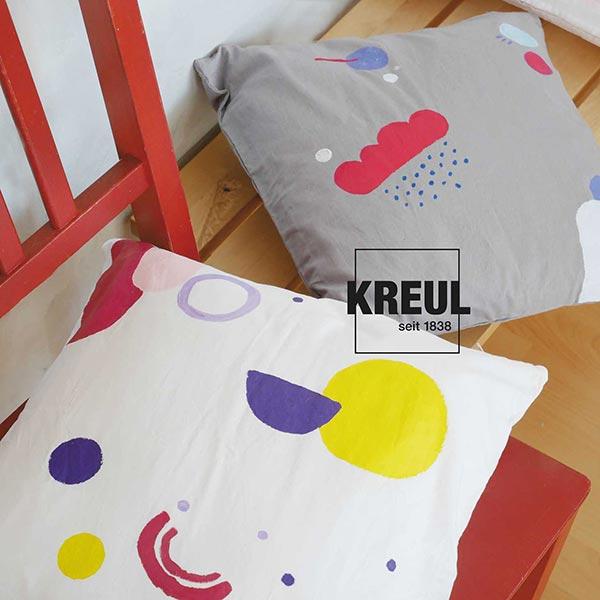 Javana Peinture pour tissus clairs et sombres [50ml] | Kreul – violet