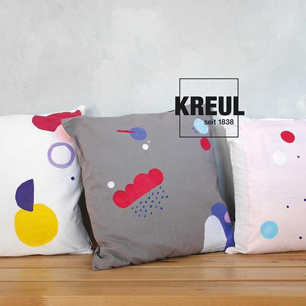 Javana Peinture pour tissus clairs et sombres [50ml] | Kreul – rouge