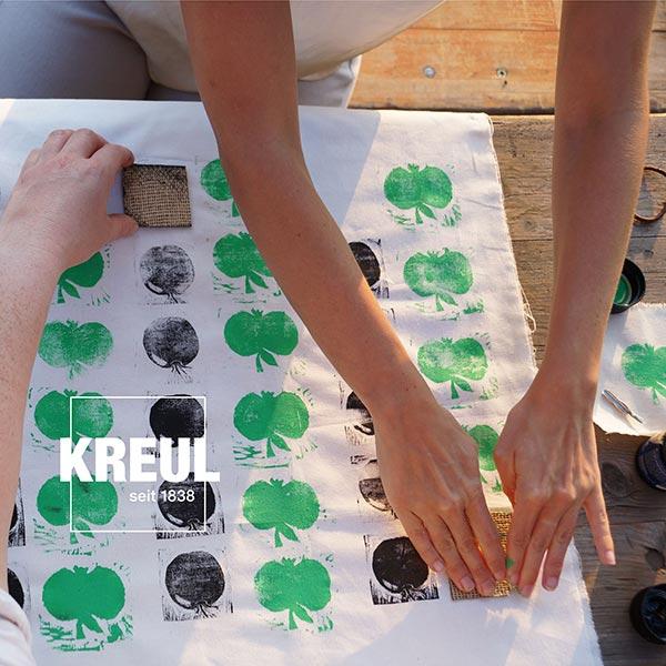 Javana Peinture pour tissus clairs et sombres [50ml]   Kreul – pourpre