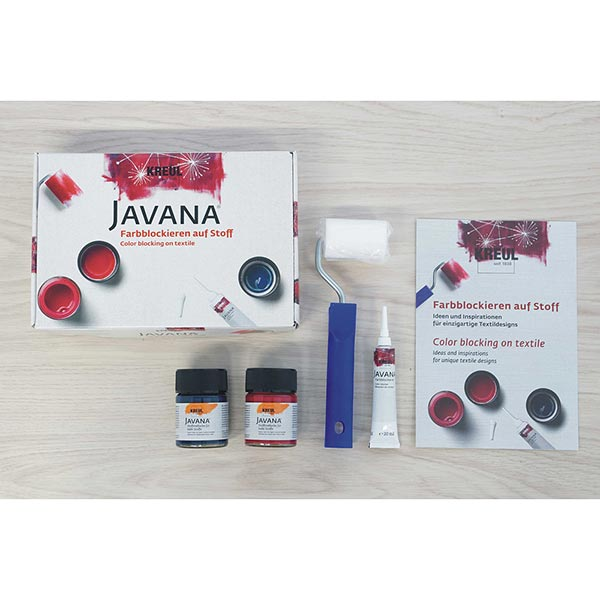 Javana Bloquer la peinture sur tissu Set | Kreul