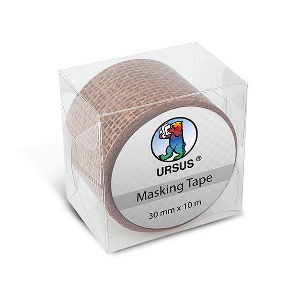 Washi Tape XL  Jute-Optik [ 30 mm / 10 m ] – beige