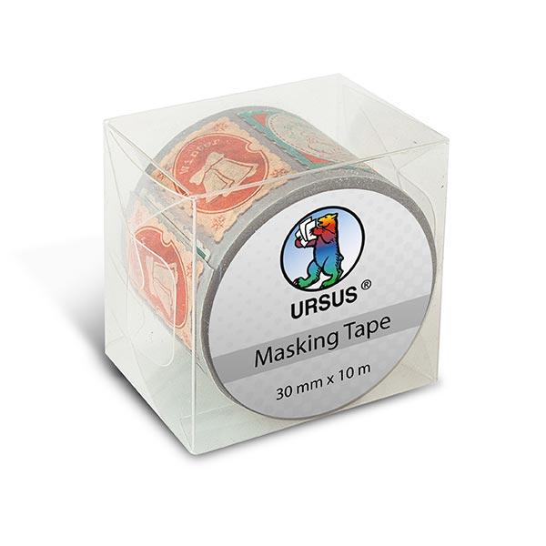 Washi Tape XL Briefmarken [ 30 mm / 10 m ] – Farbmix