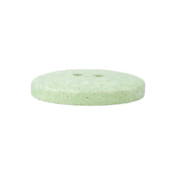 Bouton polyester 2 trous  – vert menthe