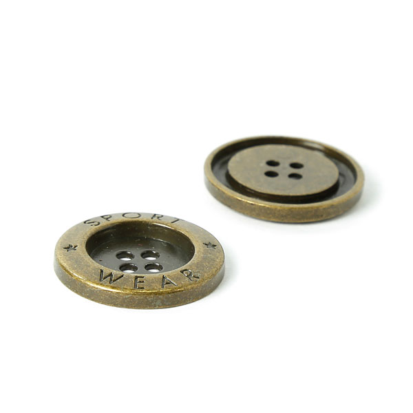 Bouton métallique, Ohrsen 851