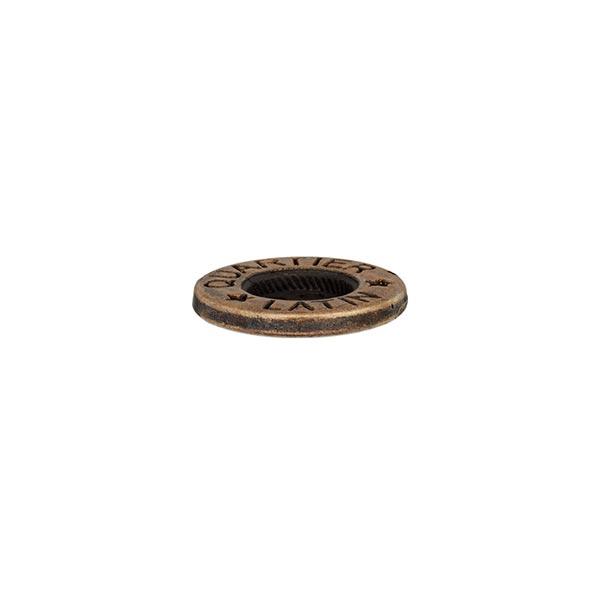 Bouton en métal 4 trous  – or