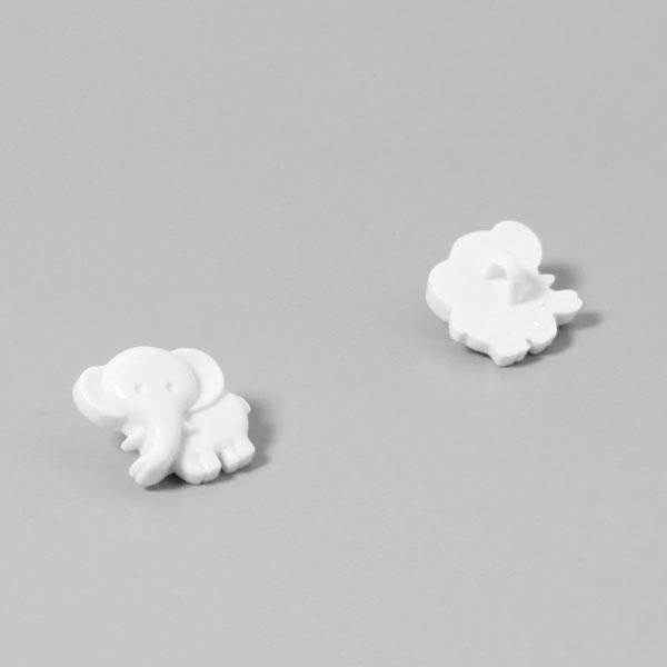 Bouton en plastique, Eléphant 12