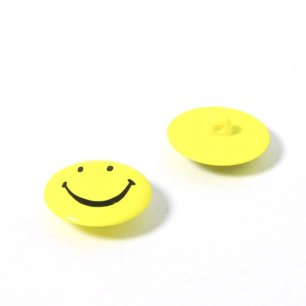 Bouton en plastique, Smiley 38