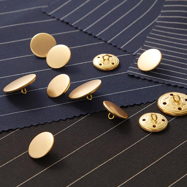 Costume Bouton Set [ 11-pièces ] – or