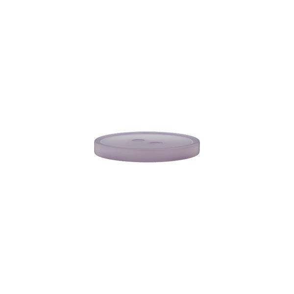 Bouton polyester 2 trous  – lilas pastel