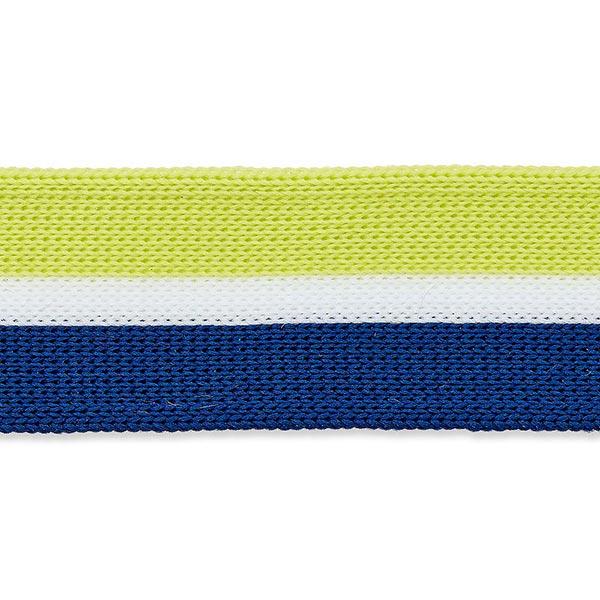 Tresse  [25mm] – pistache/bleu