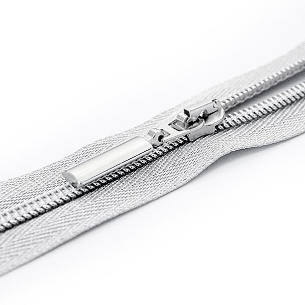 Reissverschluss Silver - silber