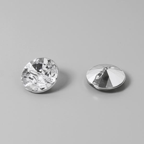 Bouton plastique Crystal 1