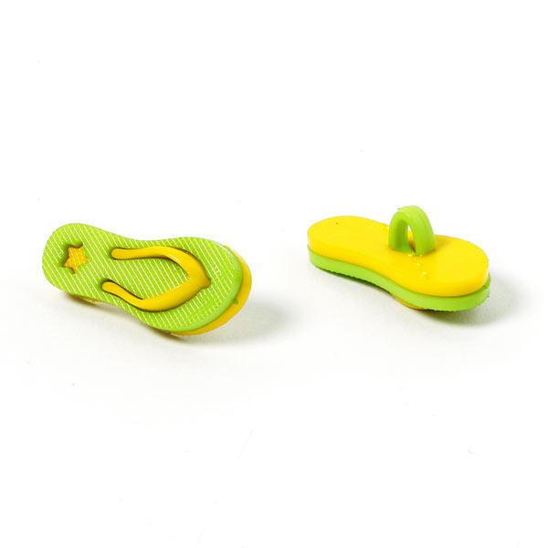 Bouton en plastique Chaussure de plage 2