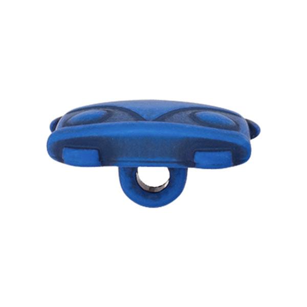 Bouton plastique Bulli Sina – bleu roi
