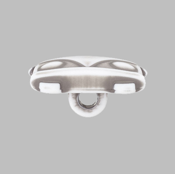 Bouton plastique Bulli Sina – gris clair