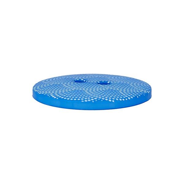Bouton plastique Wave - bleu