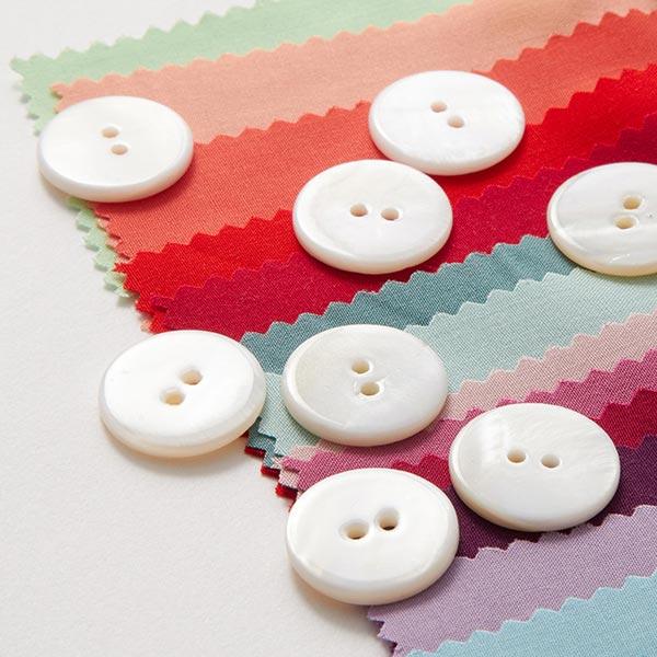 Chemisiers Bouton Set [ 8-pièces ] – blanc