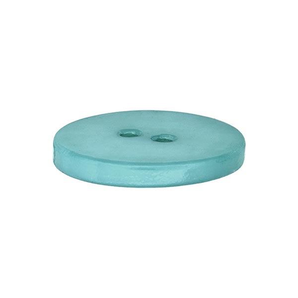 Bouton nacré pastel - turquoise
